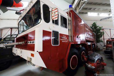 Feuerwehrauto im Technik Museum