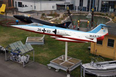 Marine Lockheed F-104G