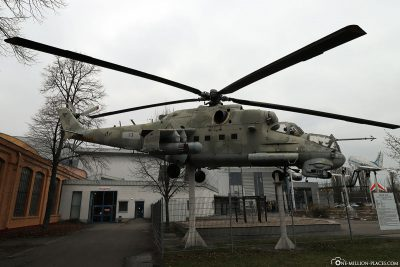 Attack Helicopter Mil Mi-24 P