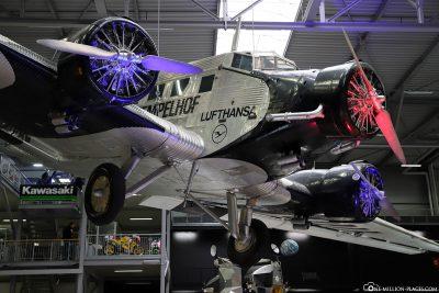 Eine Junker Ju 52 von Lufthansa