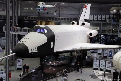 Das russische Spaceshuttle Buran 002