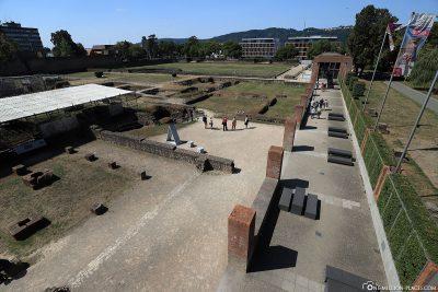 Die Kaiserthermen in Trier