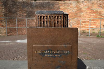 Modell der Konstantinbasilika