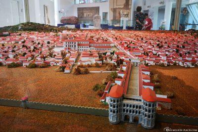 Modell von Trier zur Römerzeit