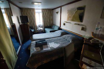 Unsere Kabine für eine Woche