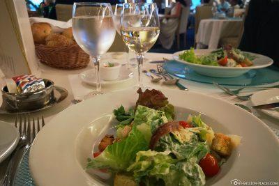Cesar Salad im À-la-carte-Restaurant