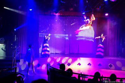 Akrobatik-Aufführung im Theater