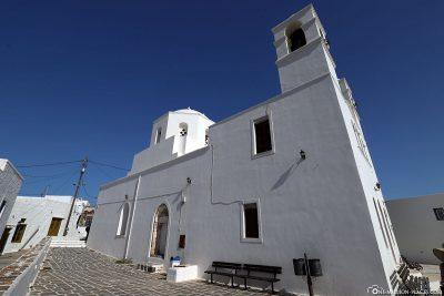 Panagia Korfiatissa Cathedral in Plaka