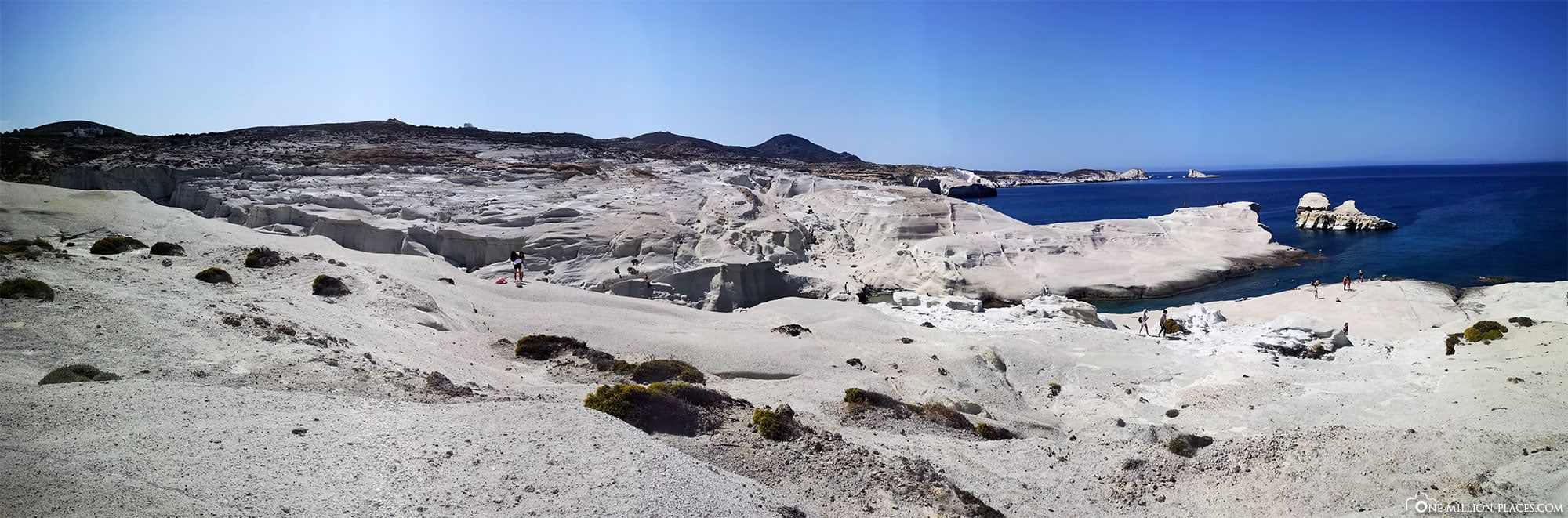 Sarakiniko, Milos, Cyclades, Greece, Attractions, Pictures, Travel Blog