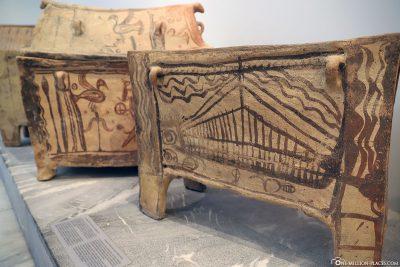 Minoan coffins