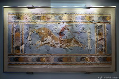 Reconstructed mural