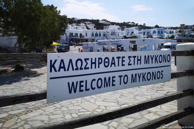 Willkommen in Mykonos