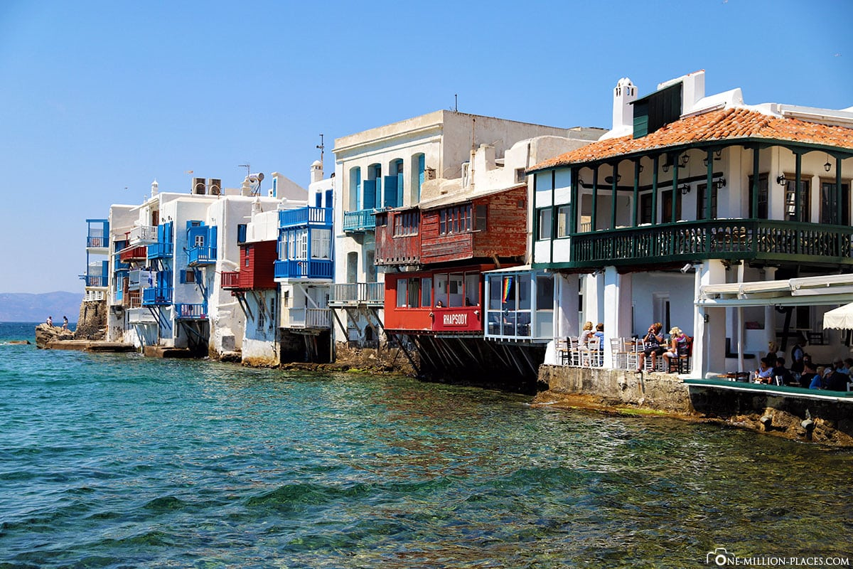 Little Venice, Mykonos, Chora, City, Alleys, Attractions, Pictures, Travel Blog