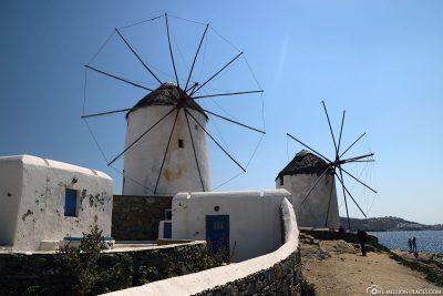 Die Windmühlen