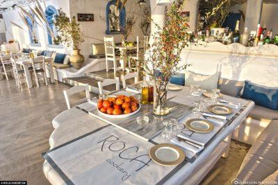 Das Restaurant Roca Cookery