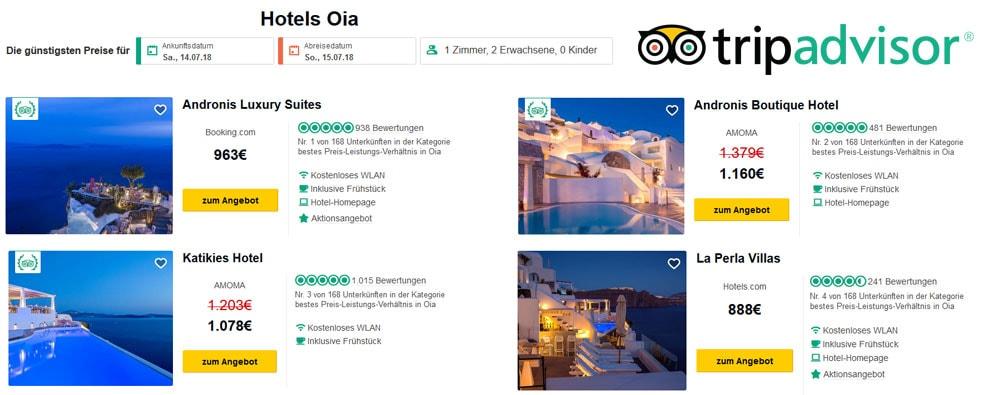 Hotel Prices, Oia, Santorini, Expensive, Luxury Hotels