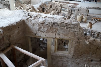 The Archaeological Site Of Akrotiri