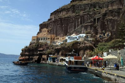 The old port of Fira