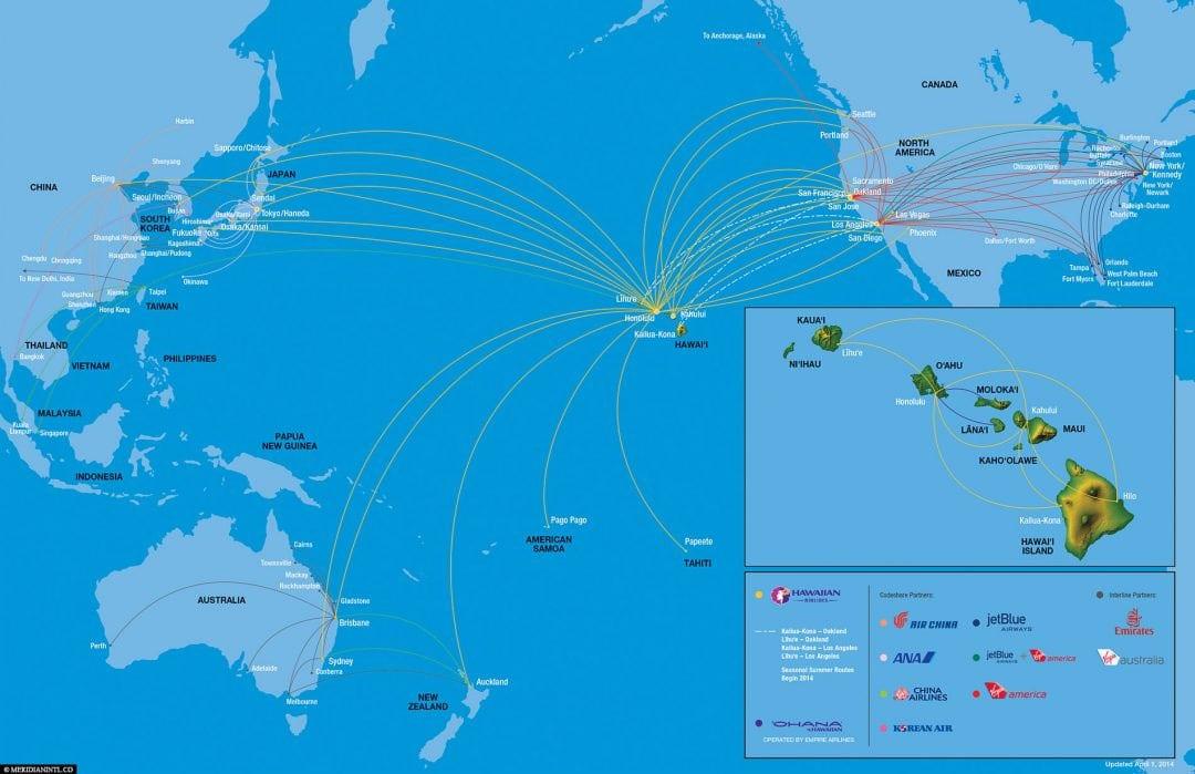 Flugverbindungen Hawaii, USA, Reisebericht