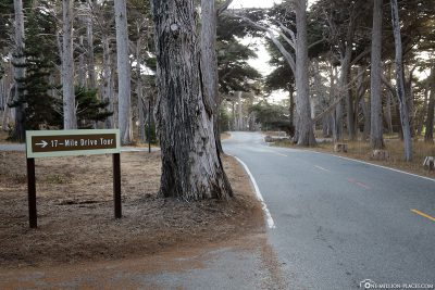 Signpost of 17-Mile Drive