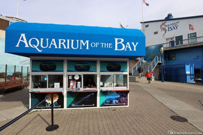 Entrance to the Aquarium of the Bay