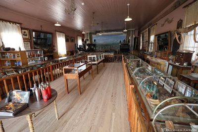 Das kleine Museum in Bodie