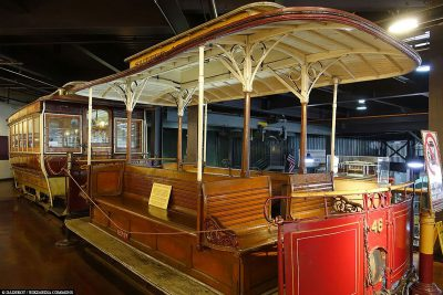 An old cable car