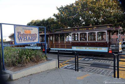 The final stop near Fisherman's Wharf