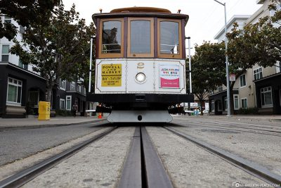 Die Cable Car in San Francisco