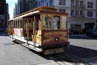 Cable Car der California-Linie