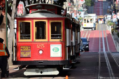 Cable Car on Powell Street