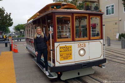 Cable Car of the Powell & Market line