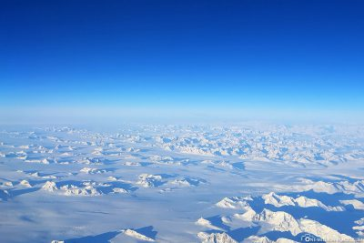 The view from the window on Greenland