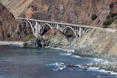 Die schönen Brücken am Highway 1