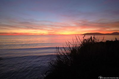 Sonnenuntergang am Pismo Beach