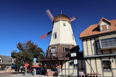The windmill in Solvang