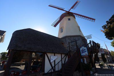Die Windmühle in Solvang