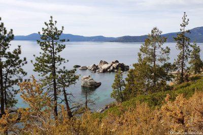 Blick auf den Bonsai Rock