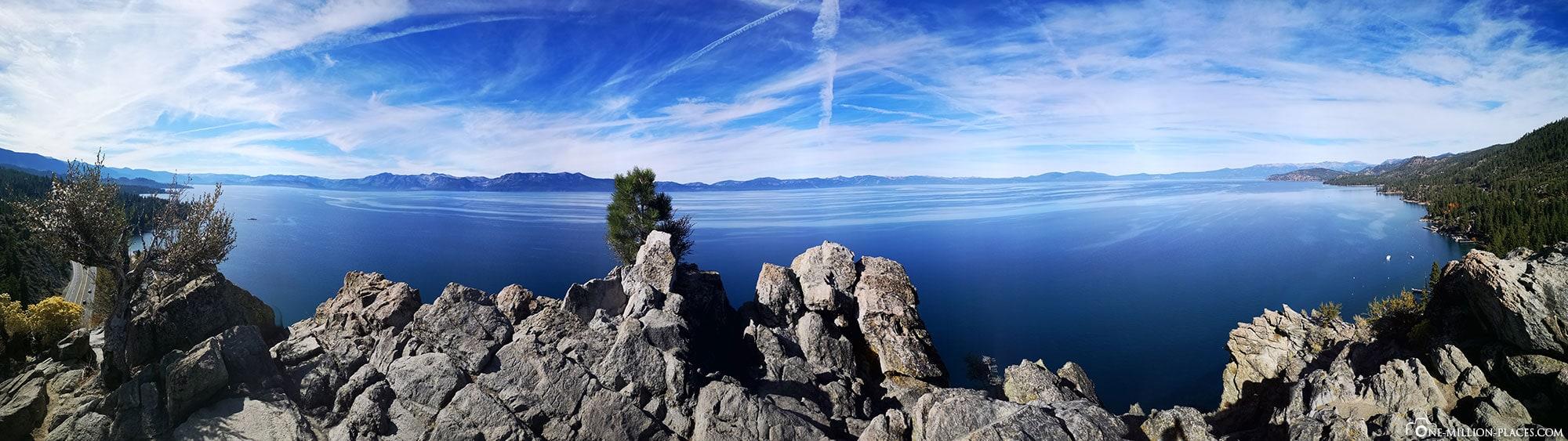 Lake Tahoe, Panoramabild, USA