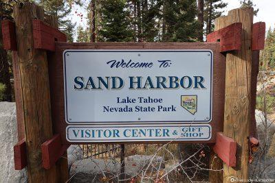Sand Harbor im Lake Tahoe Nevada State Park