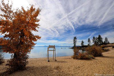 Der Strand am Sand Harbor