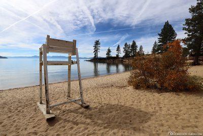 Sand Harbor Lifeguard Sitz