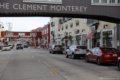 Die Cannery Row in Monterey