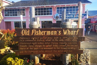Willkommen in Old Fisherman´s Wharf