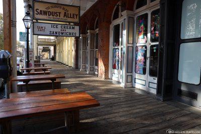 Geschäfte und Läden in Old Sacramento