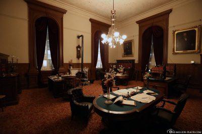 Ein historisch restauriertes Büro