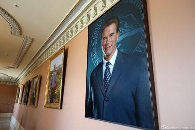 Bild vom ehemaligen Governor Arnold Schwarzenegger