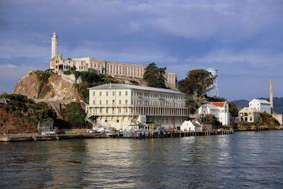 Die Gefängnisinsel Alcatraz in San Francisco