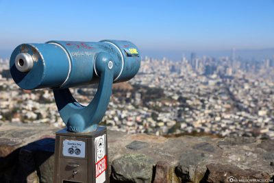 Ausblick von den Twin Peaks