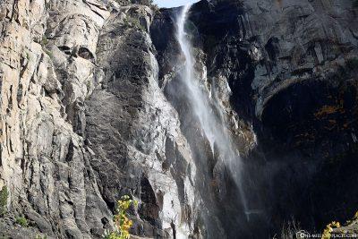 The Bridalveil Waterfall